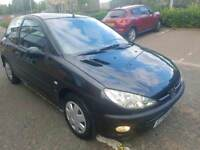 Peugeot 206 1.4cc Automatic 2 owners long mot 78k full service history air con