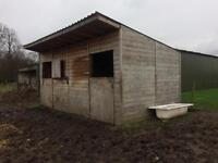 Field Stables for sale excellent quality only 2 years old 18mm exterior wood open to offers