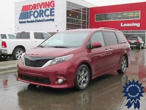 2015 Toyota Sienna SE - 7 Passenger, Dual Zone A/C, 46,754 KMs