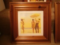 "For Sale: ""Jack Vettriano"" print."
