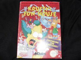 Nintendo nes krusty's fun house