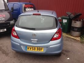 Vauxhall corsa parts or repair