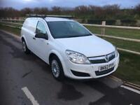Vauxhall Astra van club 2012 diesel 1.7 white 6 speed long mot