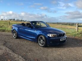 "M Sport Plus 118D convertible with graphite 19"" alloys and full leather"
