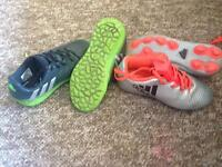 Size12 adidas football boots