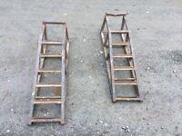 Car repair ramps