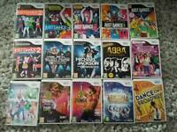 Wii dance games bundle