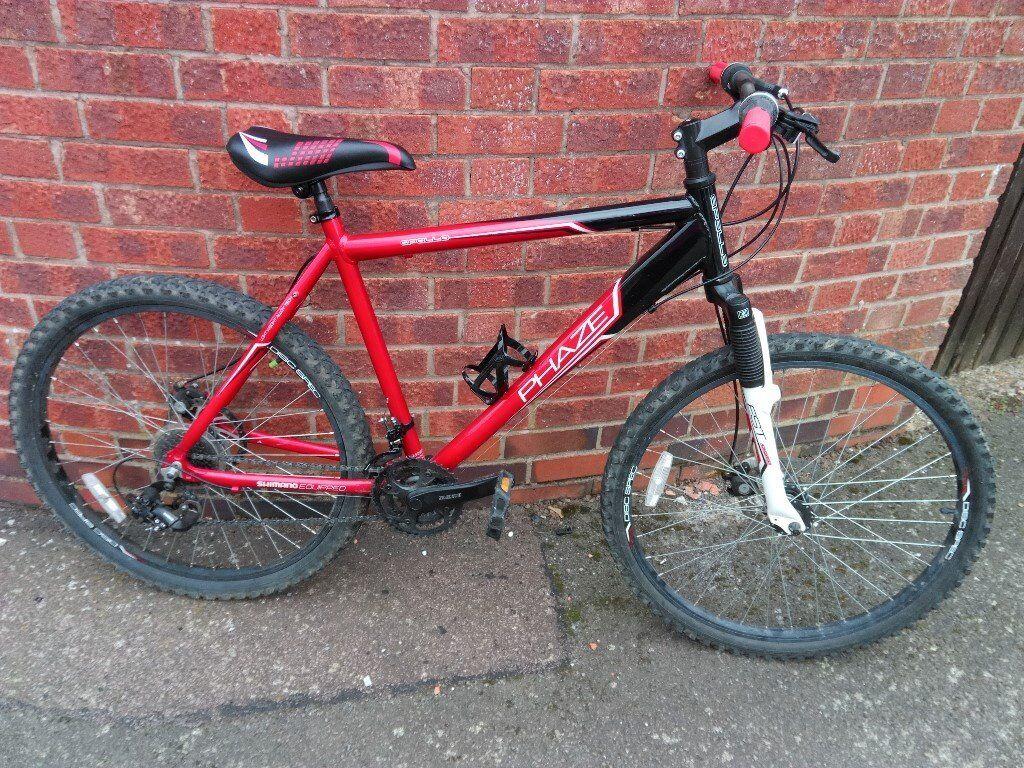 """men's apollo phaze bike 26""""disc brakes wheels"""
