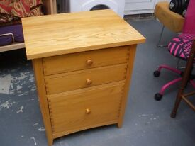 SOLID WOOD CABINET/SIDE TABLE