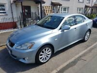 LEXUS IS 220D LOW MILAGE M.O.T 18.07.18