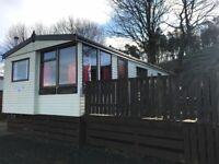 2002 Atlas Park Lodge 2 beds static caravan for sale with wooden decking