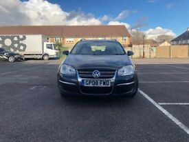 Volkswagen Golf 1.9 TDI S 5dr£3,495 p/x welcome Full Service History (08 reg), Estate 103,000 miles