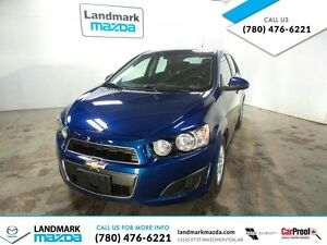 2012 Chevrolet Sonic LT 5DR HATCHBACK / FACTORY WARRANTY