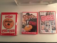 American Pie 1, 2, The Wedding and Reunion DVDs