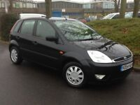 2004 FORD FIESTA 5 DOOR 1.4 BLACK ONLY 68000 MILES *EXCELLENT CONDITION*