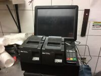 Complete POS system (inc. card machines, cash register and receipt machines)