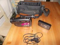 Panasonic camcorder RX11 with carry case