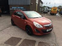 2012 VAUXHALL CORSA 1.3 CDTI LIMITED EDITION,SAT NAV ONLY 1 PREVIOUS OWNER FROM NEW,58000 WITH F/S/H