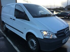 2013 MERCEDES VITO 113 CDI, FULL M-BENZ FSH NO VAT