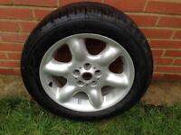 Freelancer 6 spoke alloy wheel and tyre all in excellent condition ready to use a real bargain