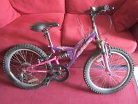 Child bike, needs service.