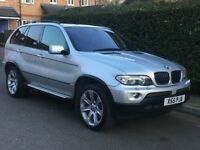BMW X5 3.0D Exclusive Edittion 06 Plate Face Lift Midel Sat Nav Pan Roof Memory Lethers