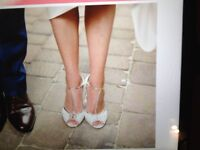 Rachel Simpson Bridal Shoes - size 6