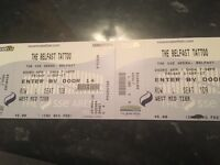 Belfast tattoo tickets