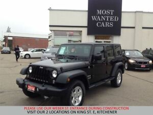 2014 Jeep Wrangler Unlimited | 4X4 | 2 TOPS