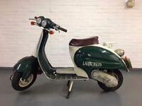 Velocifero Italjet 50cc / Classic scooter - Looks like early Vespa / Lambretta.