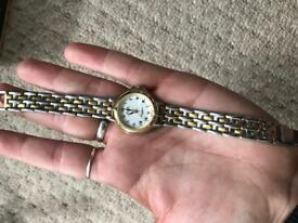 Two tone Aviva Ladies Watch