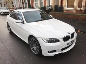 White BMW 320d M Sport Coupe #Idrive #Full Service History #MOt