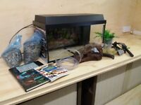 Tropical Fish Tank and accessories starter kit