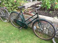 Ladies vintage BSA bicycle. £75