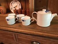 Brand new Denby natural vintage inspired tea set
