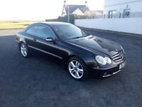 Mercedes Benz CLK, 220 CDi, Auto, Coupe, FSH, £2,475 Cheap trade in welcome