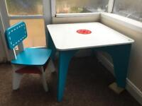 Elc table and chair