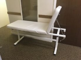 Beauty Consulting Couch with fully adjustable back support