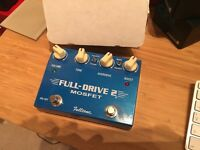 Fulltone Full-Drive 2 Mosfet | Guitar Effects Pedal | Hand-Built in California