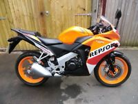Honda cbr 125 repsol 2016 as new