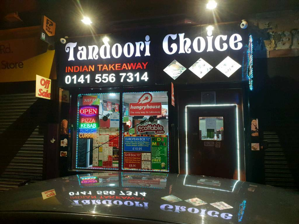 Indian Takeaway Business For Sale In Parkhead Glasgow