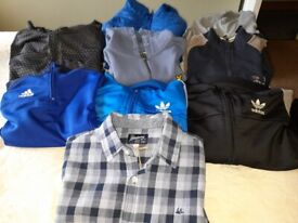 Selection of boys Jacket/Jumpers/Tops