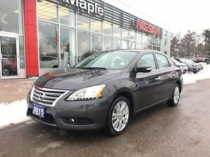 2015 Nissan Sentra |SL|Navi|Roof|Leather| HeatSeat|Cam|+++|