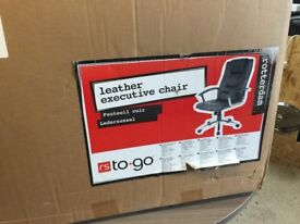brand new executive leather chair