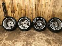 Vw golf R32 alloy wheels 5x112