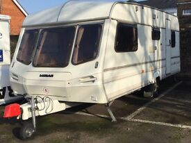 Touring CARAVAN - 5 Five Berth - LUNAR - incl. DOREMA Awning - Very Good Condition
