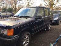Range Rover in blue, 1998 spare or repairs