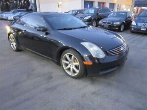 2003 Infiniti G35 MANUAL~LEATHER~SUNROOF~AS IS !!!