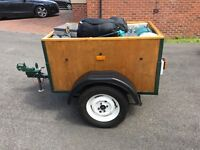 Box trailer ideal for camping