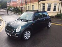 MINI 1.6 PETROL,10 MONTHS MOT,FULL SERVICE HISTORY,2 KEYS,LOW MILEAGE.